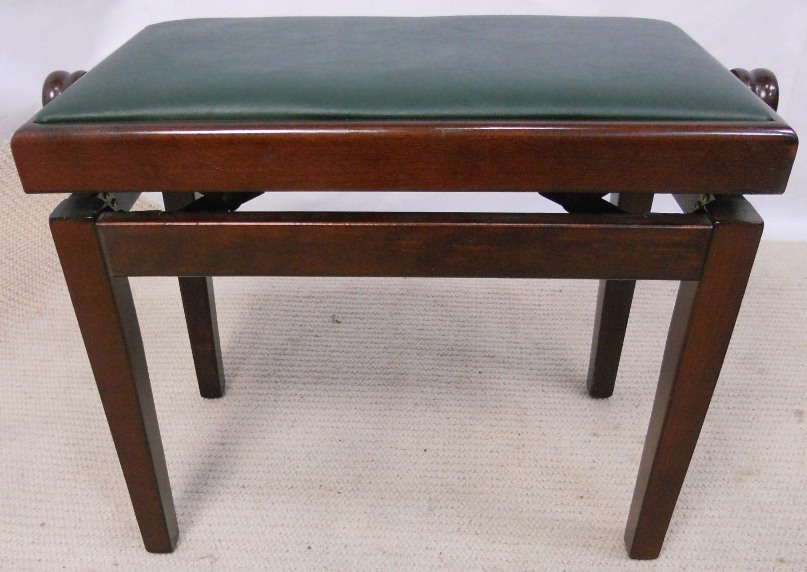 Mahogany Adjustable Height Piano Stool : adjustable height piano stool - islam-shia.org